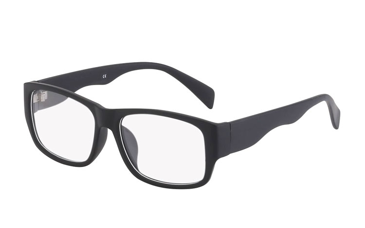 520e8576985c Kraftig kvalitets brille uden styrke