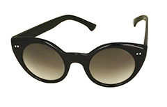 Sort cateye solbrille Vintage look - Design nr. 3257