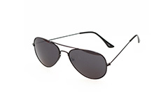 Aviator solbrille i sort - Design nr. 267