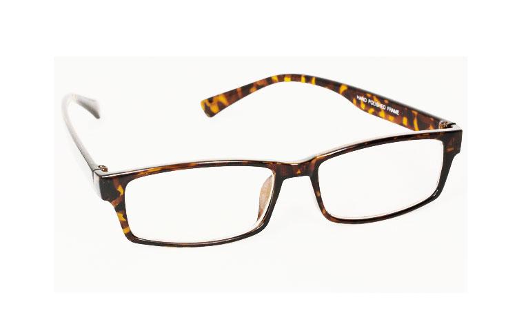 64a2dd84caba Fin firkantet brille uden styrke - Design nr. 3013
