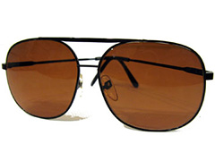 Aviator solbrille i retro look