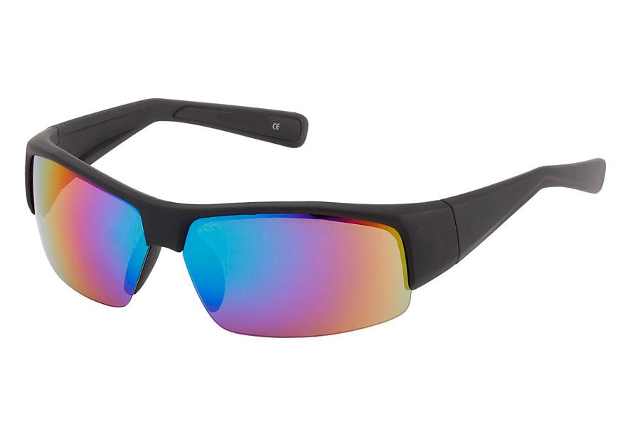 59e53321fbe0 Mat maskulin solbrille i stort hurtigbrille   sports design - Design nr.  3836