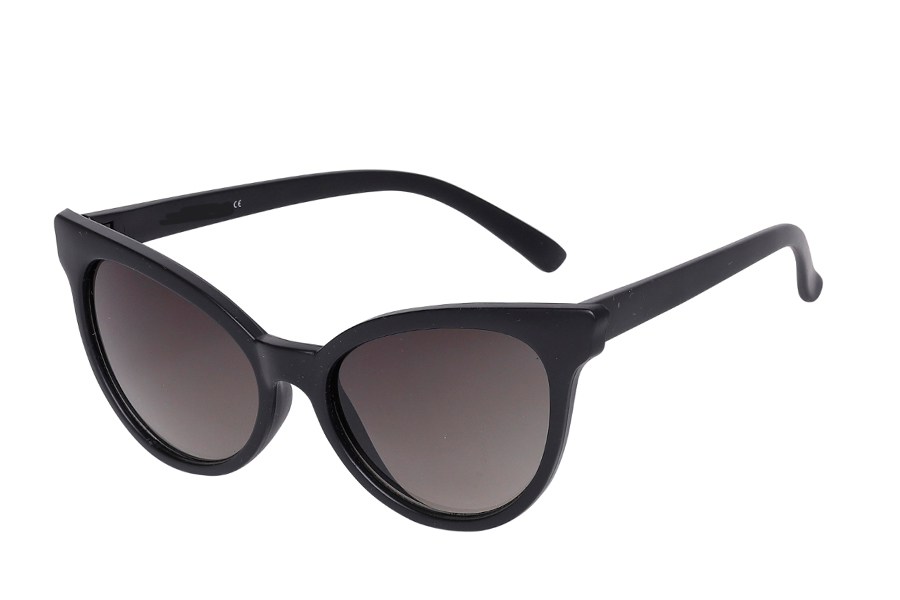 Feminin cat-eye solbrille i let design - Design nr. s3976